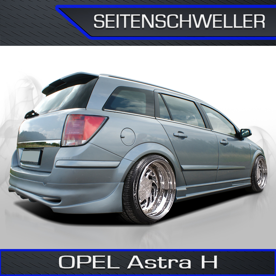 opel astra h a h sw caravan abs dperformance seitenschweller set ebay. Black Bedroom Furniture Sets. Home Design Ideas